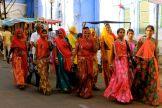 Smiling women in Pushkar, India