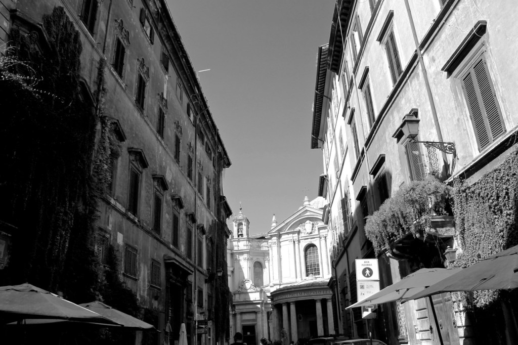 Black and white Rome