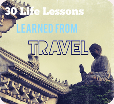 lessons learned from travel