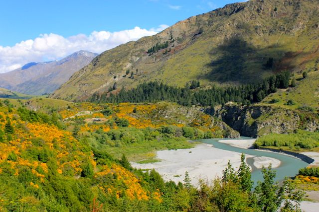 Shotover Canyon, New Zealand