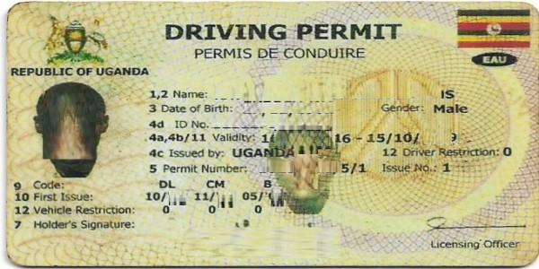 Lost driving permit