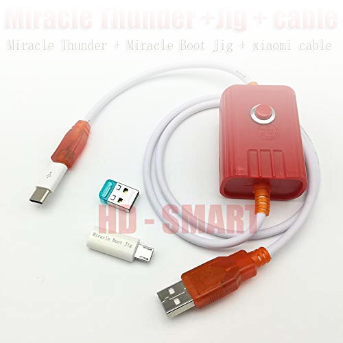 Reviews of SeedWorld Telecom Parts - Miracle Box/Miracle Thunder Key Miracle Thunder dongle +Cable Miracle Thunder pro dongle no Need miralce Box and Key 1 PCs