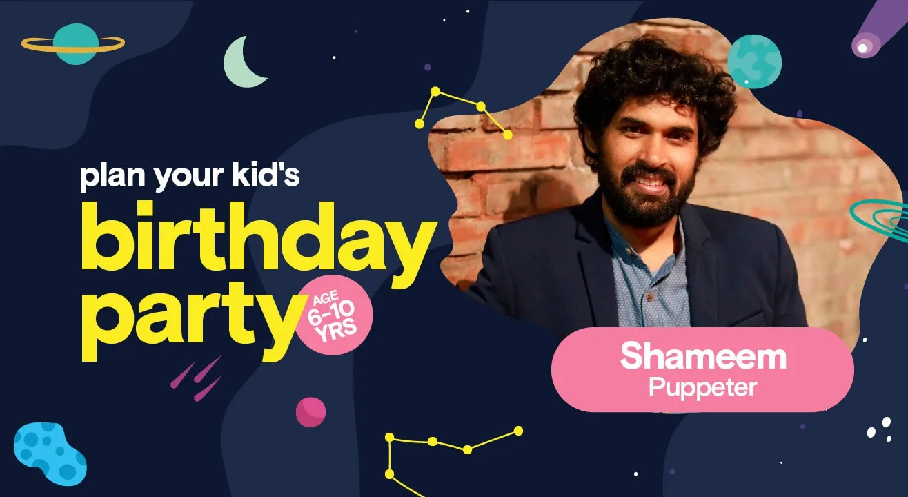 Birthday Party For Kids With Mohammed Shameem Puppet Show Private Parties Event In Pan India