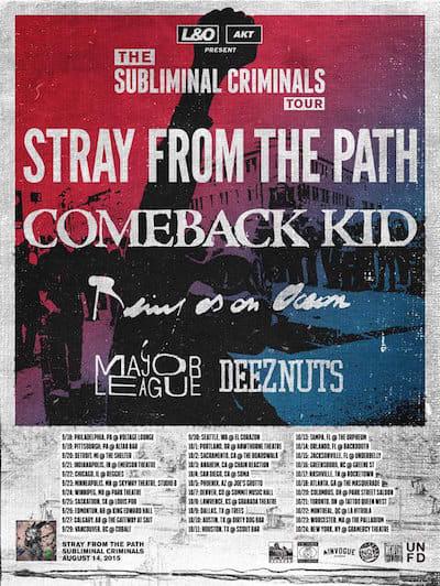 ComebackKid tour