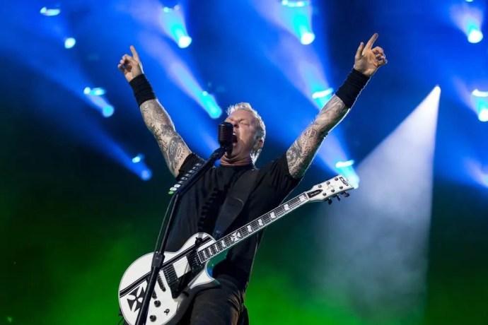 Metallica, Heavy Montreal. Photo by Tim Snow.