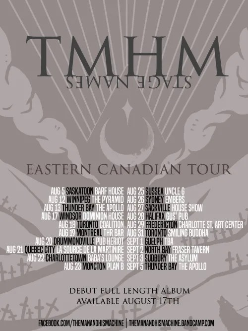 TMHM tour dates 2016