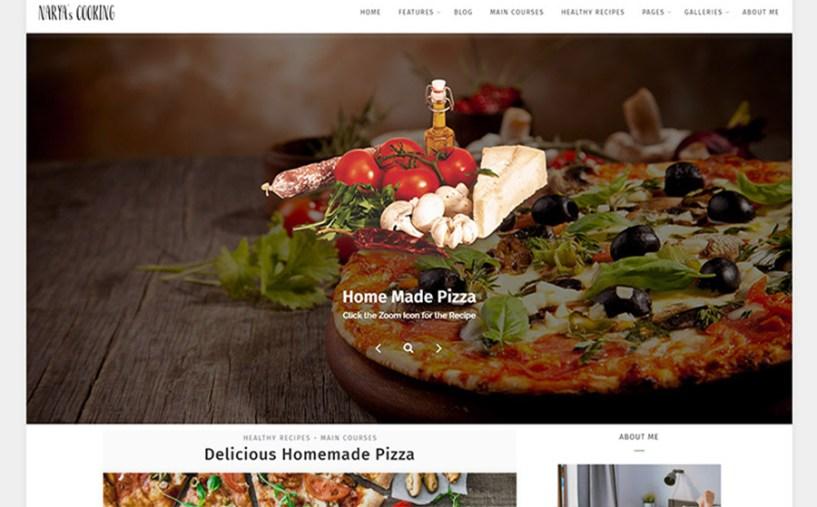 Narya - Food Blog For Cooks WordPress Theme