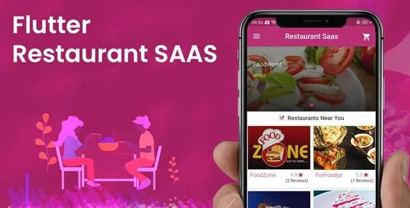 FLUTTER MULTIRESTAURANT SASS APP