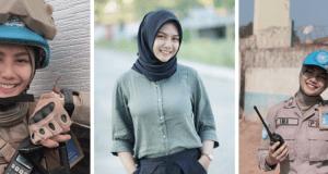 Briptu Imah Polwan Cantik Mirip Artis Indonesia Pevita Pearce