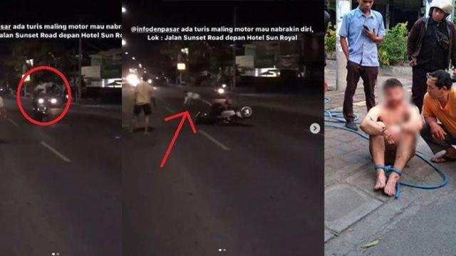 hipwee bule ngamuk tabrakan diri ke pengendara motor dan mobil di bali Viral Video Bule Australia Ngamuk Menendang Pengendara Motor di Bali. Orang Ini Kenapa Sih?