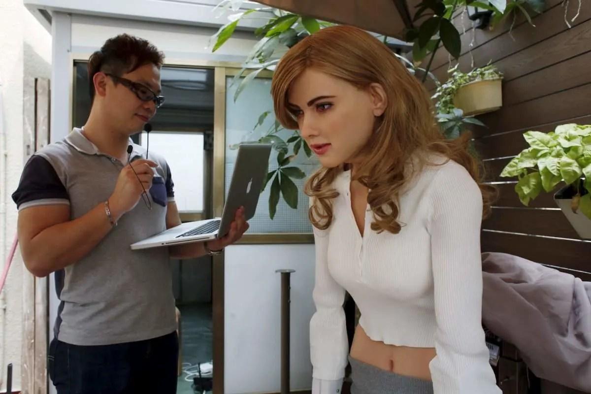 Robot Scarlett Johansson 7 Wow, Robot Cantik ini Mirip Sekali Dengan Scarlett Johansson