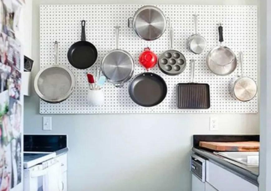 desain dapur minimalis tersembunyi
