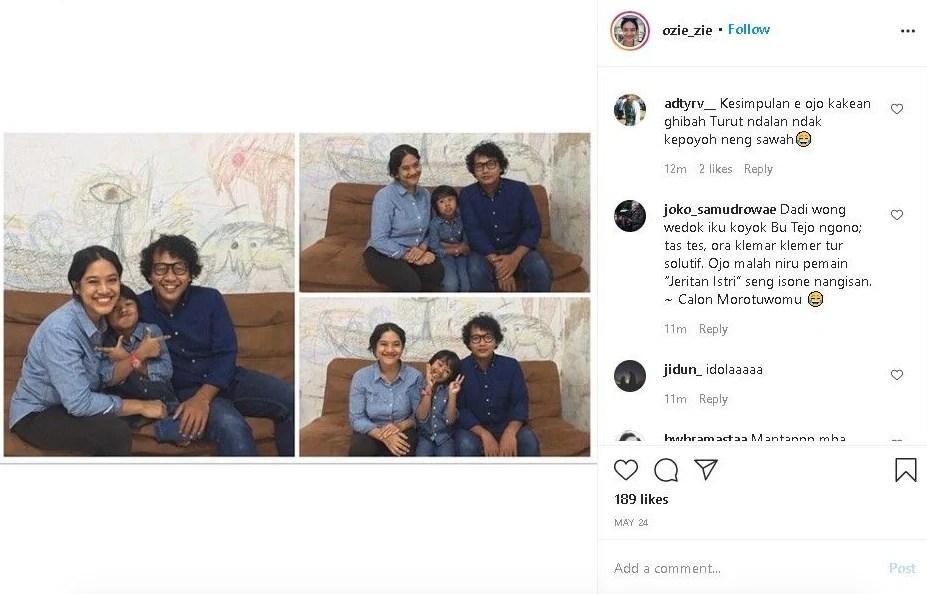 %name Bu Tejo Tilik Viral, Instagram Pemerannya Diserbu Komentar Netizen
