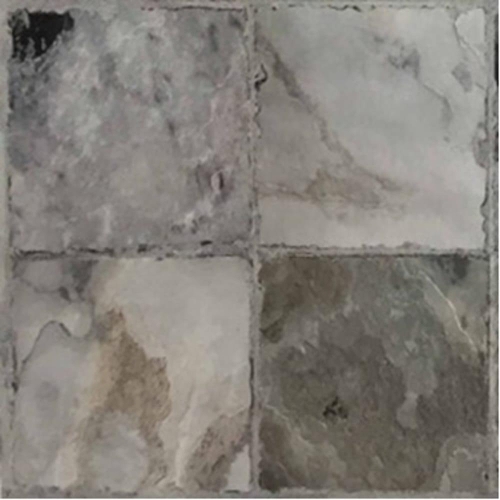 self stick vinyl tile 12 x 12 cobblestone gray