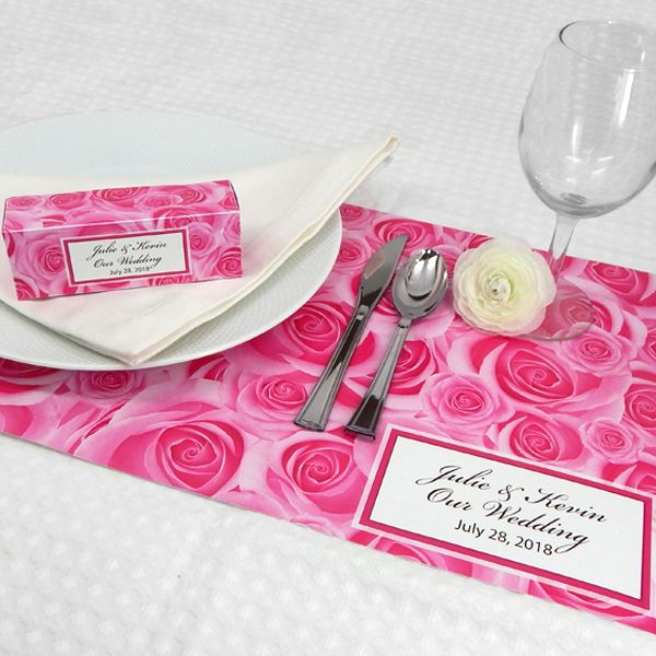 9287000--Wedding Placemats