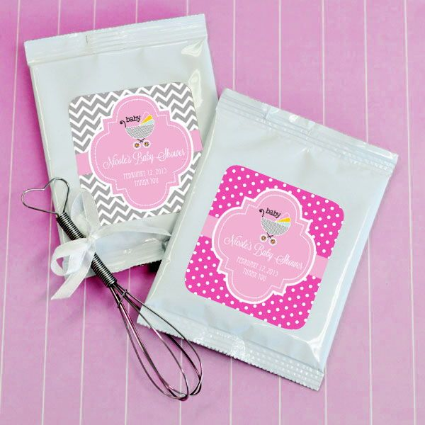 EB2003Z-Personalized Baby Shower Hot Cocoa + Optional Heart Whisk