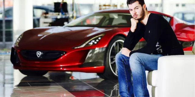 Rimac's founder, Mate Rimac, began as an entrepreneur trying to electrify his BMW. Today, the technology he developed with his 400-person strong team is one of the leaders in the field. (Photo credit Rimac Automobili, Davor Puklavec.)