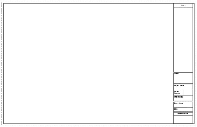 Making A Layout Template With Title Block For Sheet Set