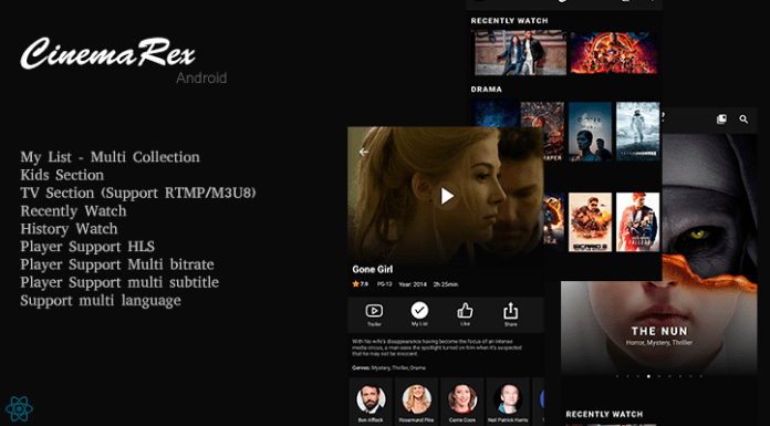 CinemaRex - Streaming Service - 7
