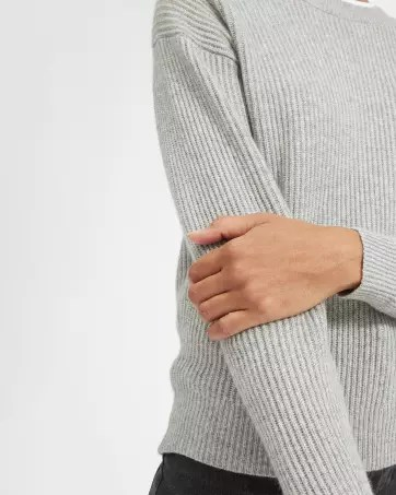 The Cashmere Rib Round Crew - Everlane