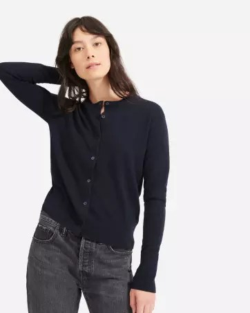 The Cashmere Crew Cardigan - Everlane