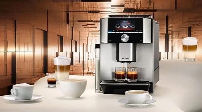 Siemens Eq 9 Coffee Machines Innovations The Appliances Reviews