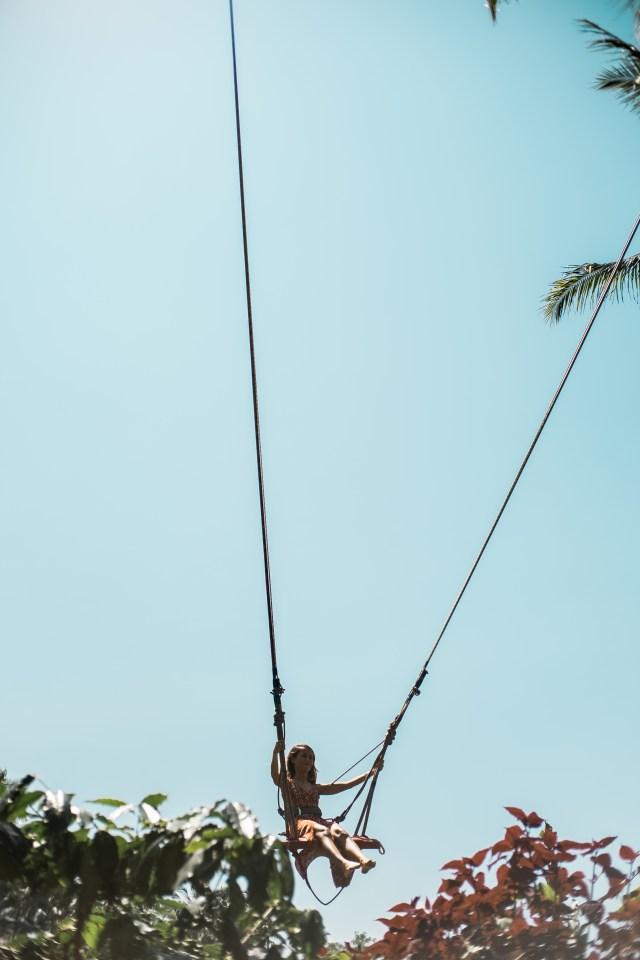 uma pakel swing tegalalang bali