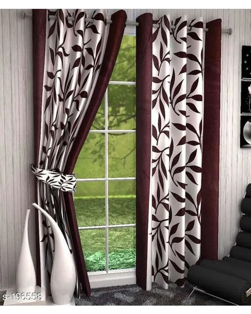 Printed Polyester Door Curtains Vol 2-6