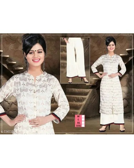 Classy Attractive Designer Rayon Printed Kurta Set Vol 1