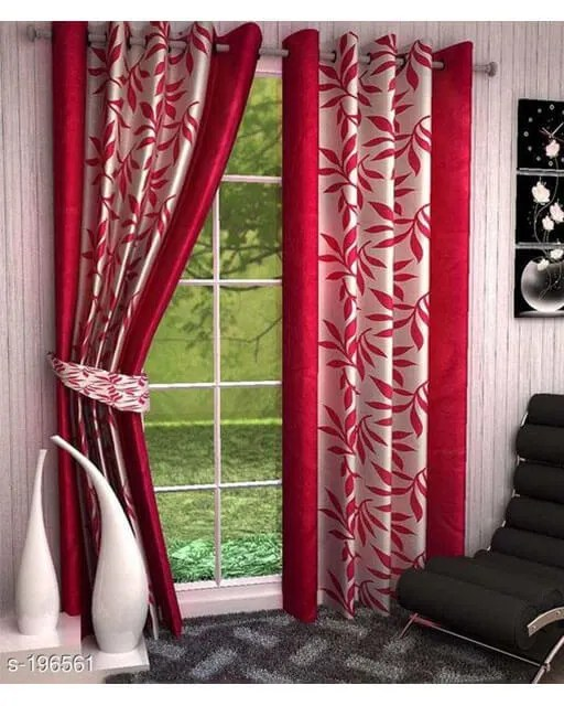 Printed Polyester Door Curtains Vol 2-3