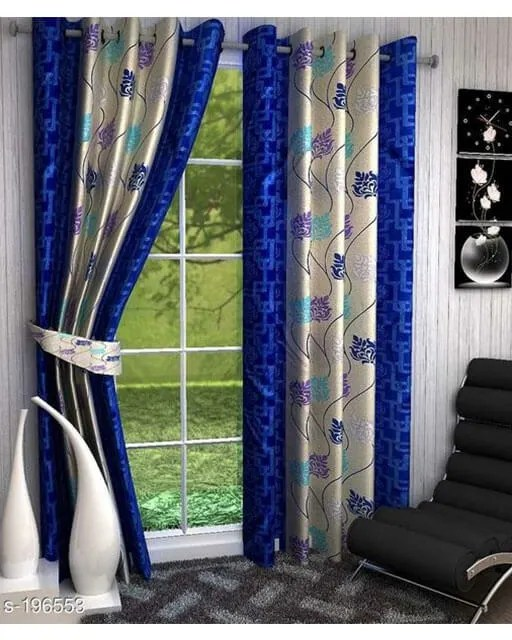 Printed Polyester Door Curtains Vol 2-11