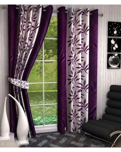 Printed Polyester Door Curtains Vol 2-10