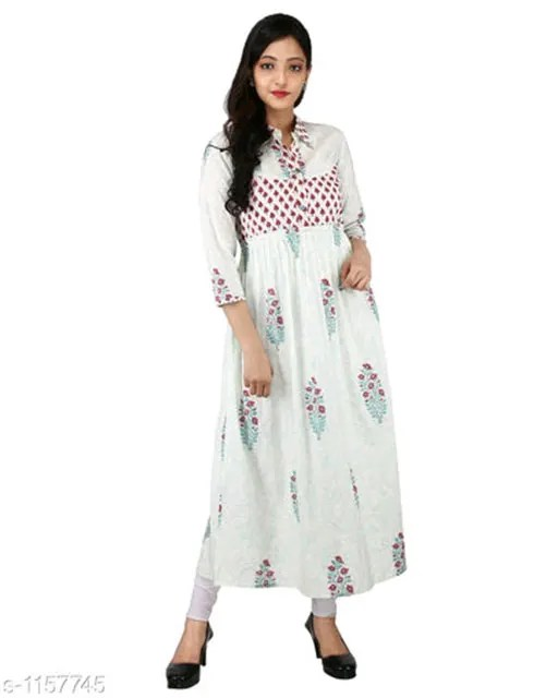 Vedika Cotton Women's Kurtis