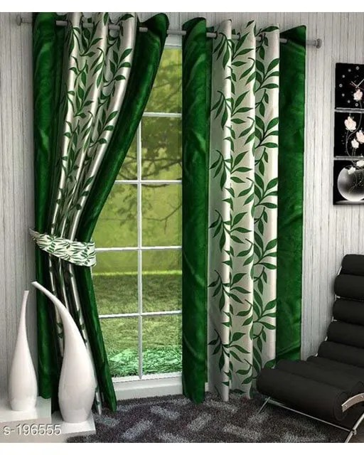 Printed Polyester Door Curtains Vol 2-9