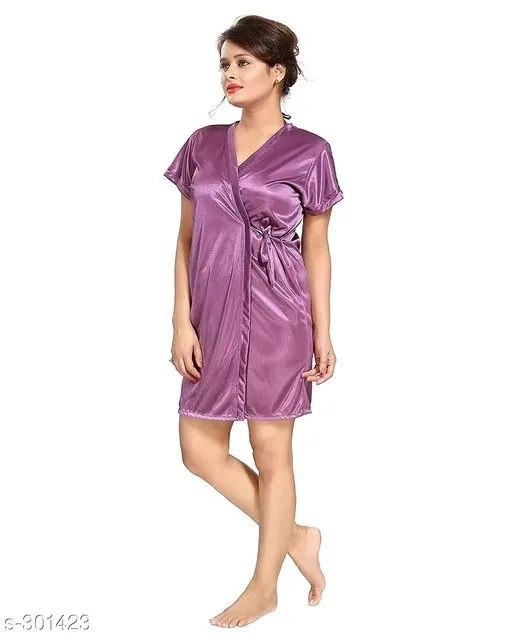 Women's Flare Satin Nightwears Vol 1