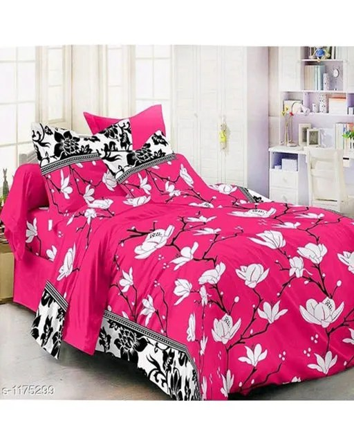 Splendor Exotic Poly Cotton Double Bedsheets Vol 3 (5)