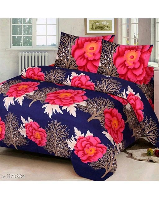 Splendor Exotic Poly Cotton Double Bedsheets Vol 3 (11)