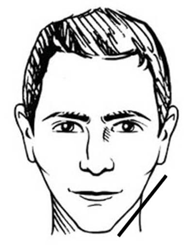 face shape for men
