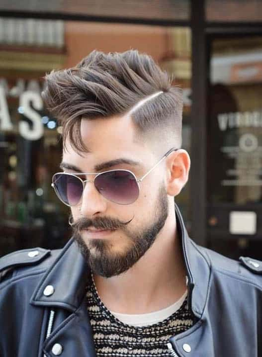 What is Comb over hairstyle