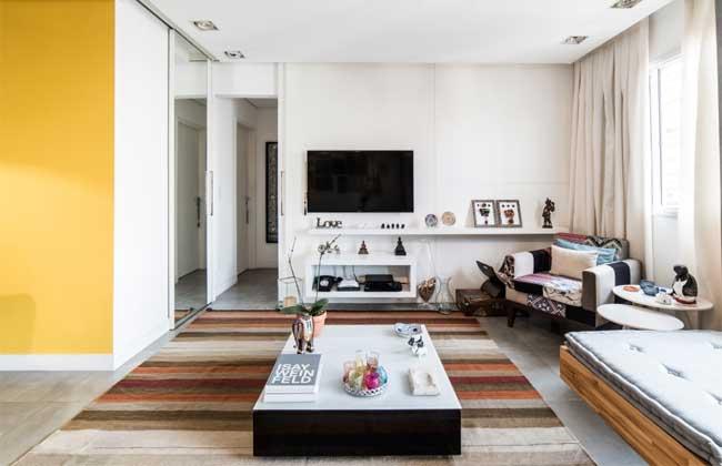 Drywall nos ambientes de Pietro Terlizzi