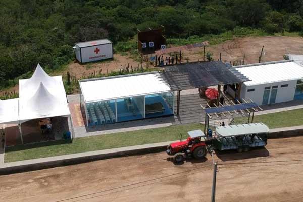 Construção sustentável do Parque de Aventura Karawá tã