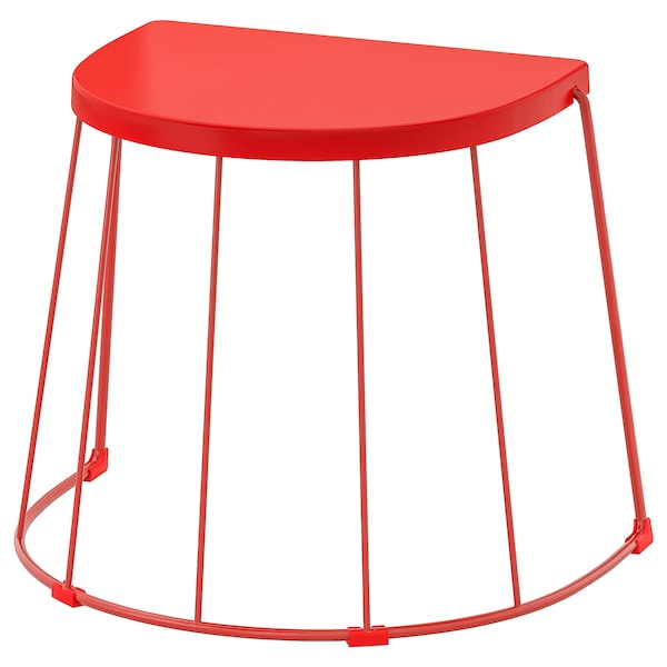 appoint int ext rouge 56x41x43 cm ikea