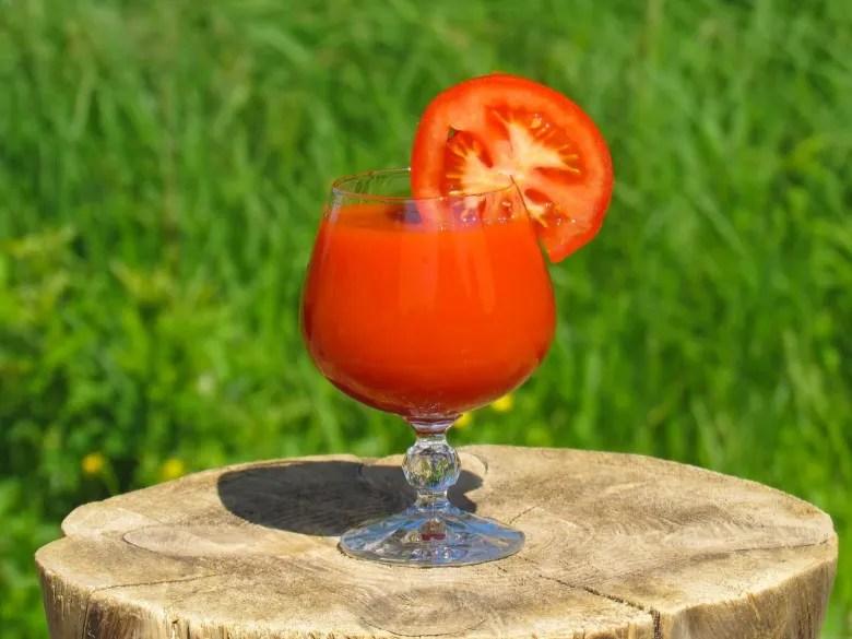 tomato juice weight loss drinks