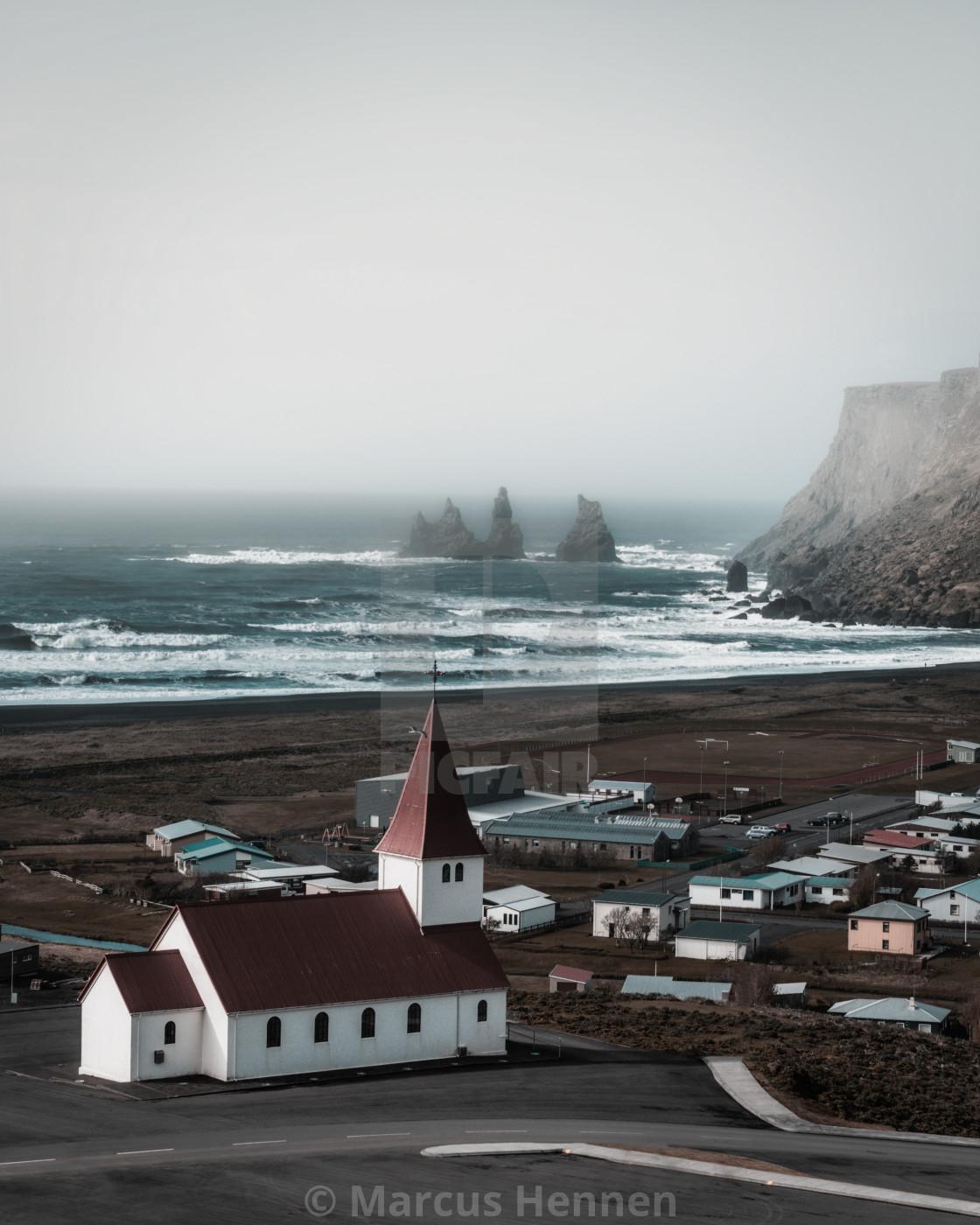 Image result for The village of Vík í Mýrdal Marcus Hennen