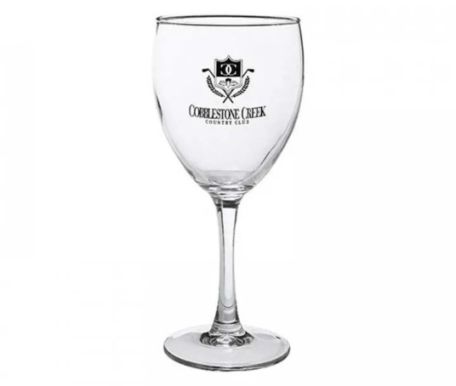 Best Cheap Promotional Wine Glasses In Bulk Nuance 10 5 Oz Personalized Wine Glass