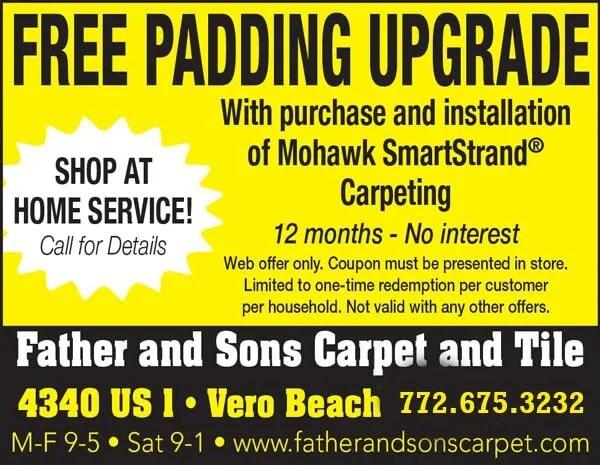 in vero beach fl father sons carpet