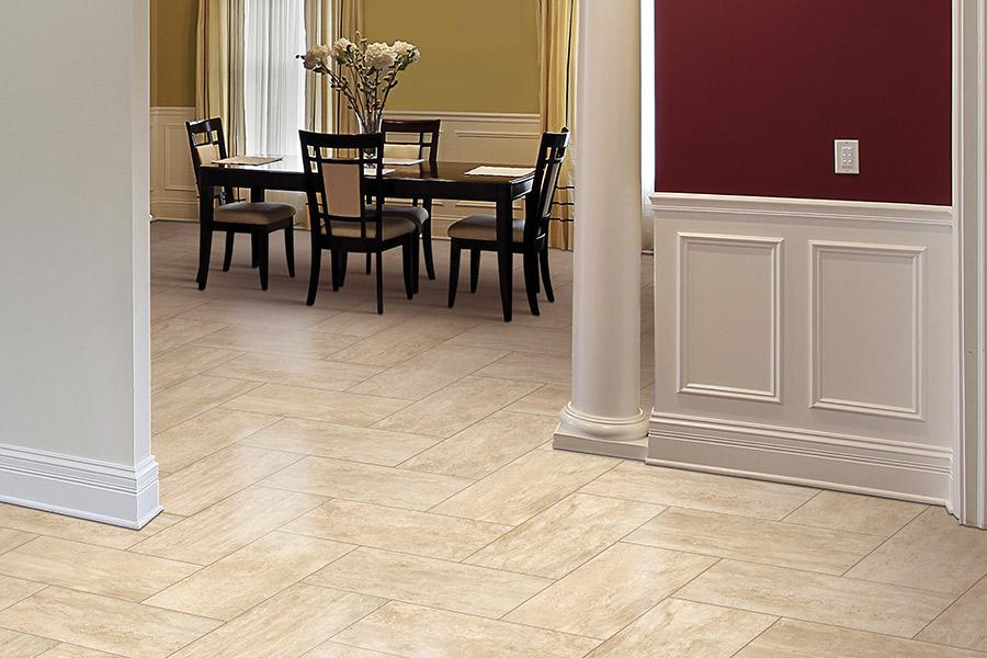 palm design surfaces about tile