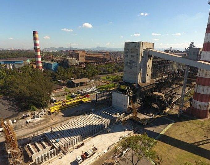thyssenkrupp avança em obra de coqueria EPC para ArcelorMittal Tubarão