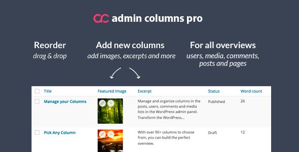 Admin columns pro Free download