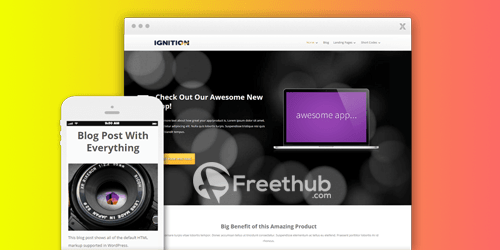 Thrive Themes Ignition WordPress Theme free Download